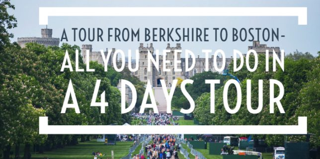 A tour from Berkshire to Boston