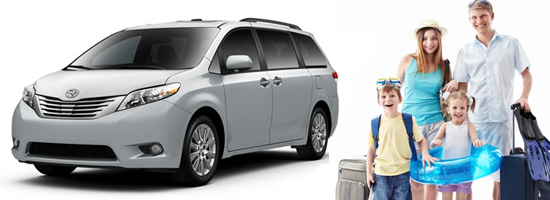 Minivans for Families in our Boston Car Services